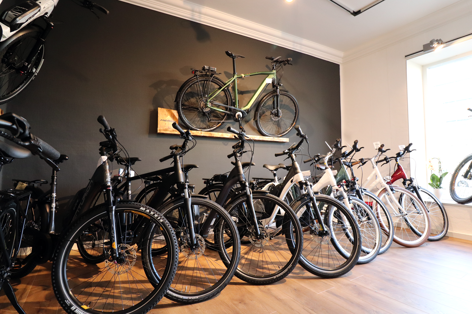 eBike Showroom innen